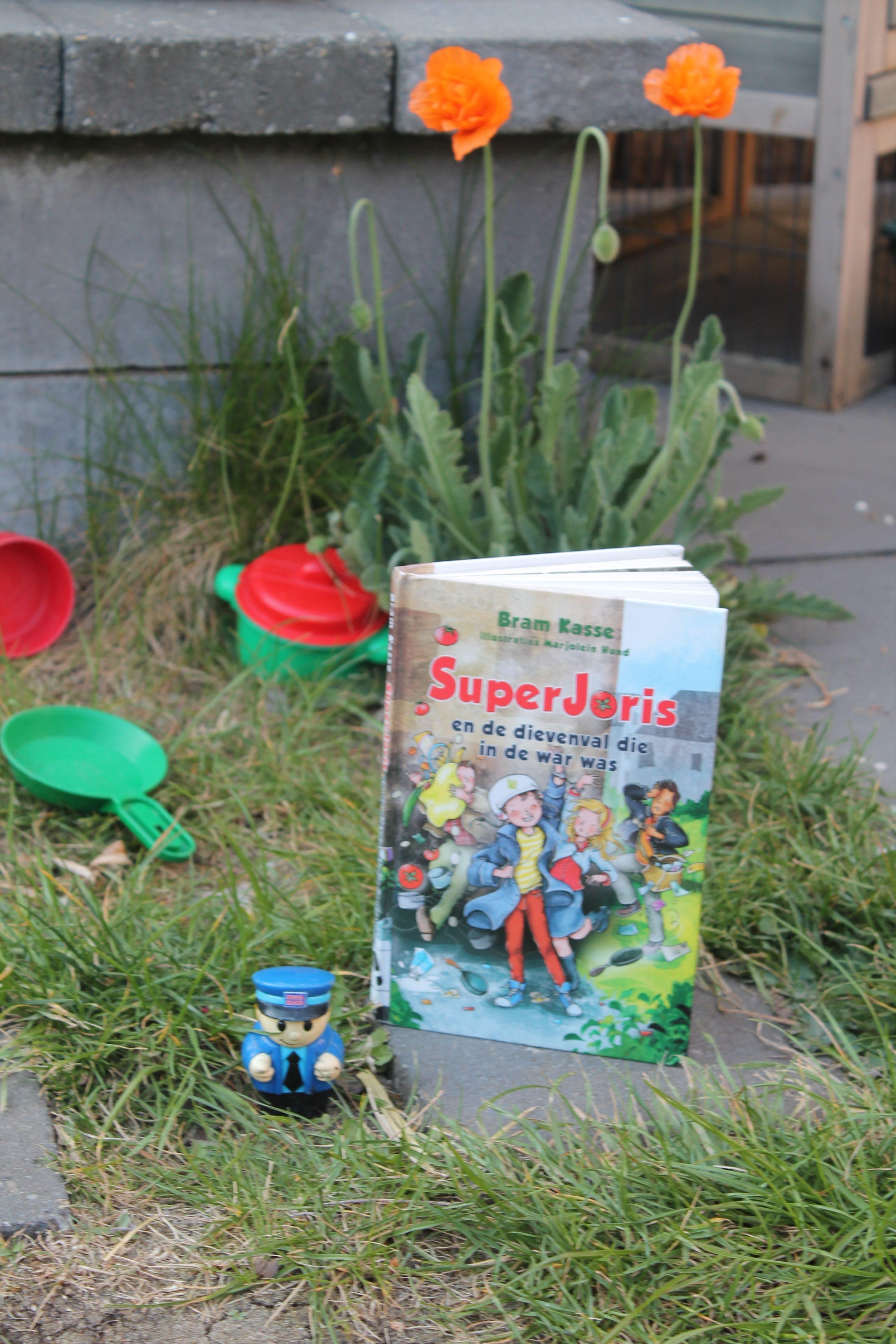 SuperJoris en de dievenval die in de war was